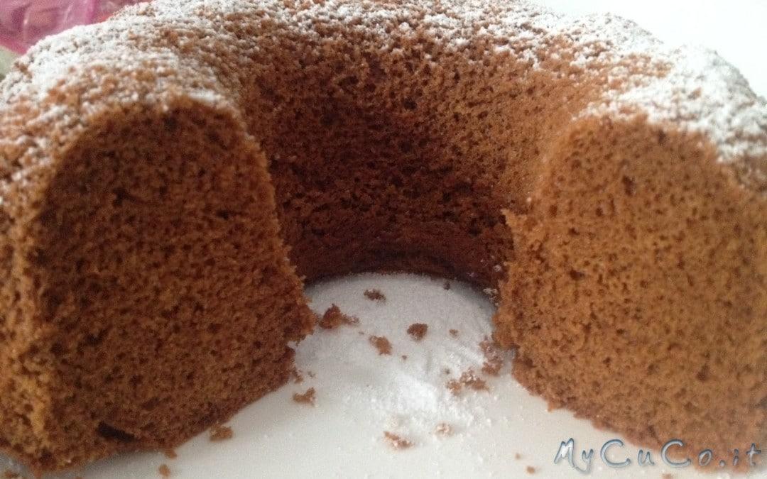 Mini chiffon cake al cacao