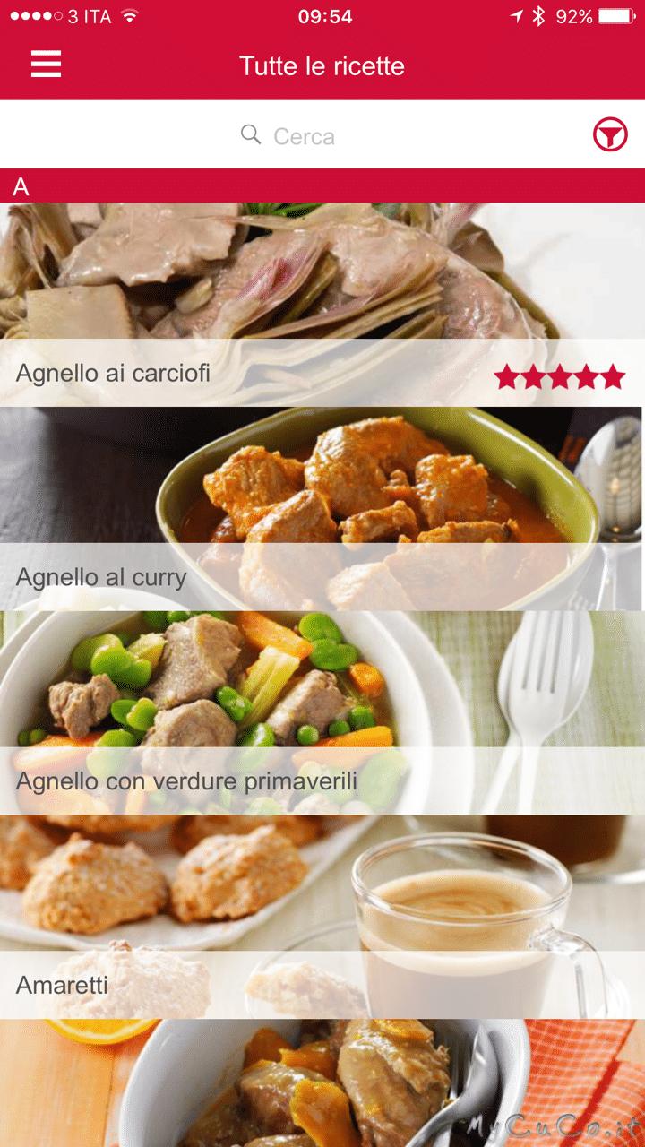 App ios per cuisine companion my cuco for Cuisine companion