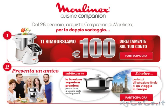 ecco i dettagli della nuova promo moulinex my cuco cuisine i companion e xl moulinex. Black Bedroom Furniture Sets. Home Design Ideas