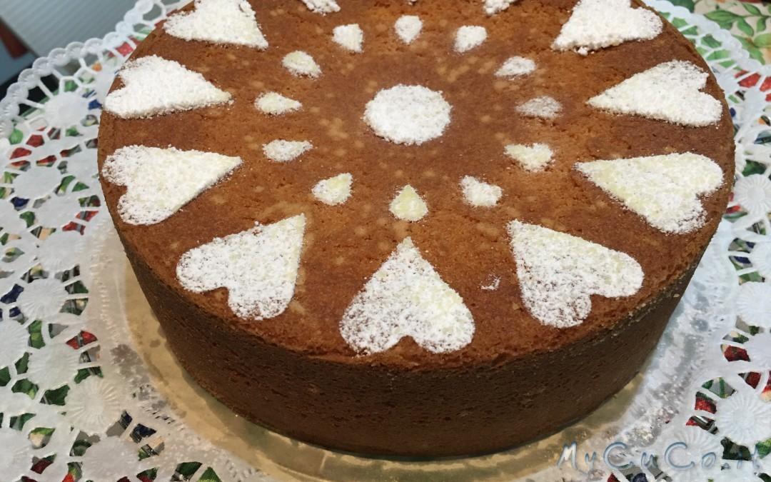 Torta paradiso con Cuisine Companion