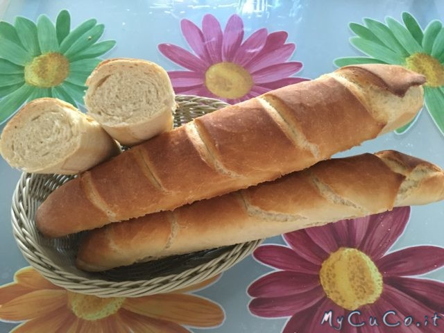 Baguettes con Moulinex Companion