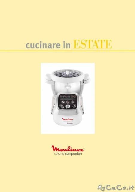 Nuovo ricettario per cuisine companion ed i companion for Cucinare estate