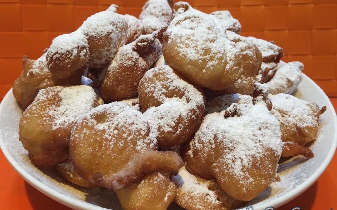 Frittelle di Carnevale con Cuisine e i-Companion Moulinex