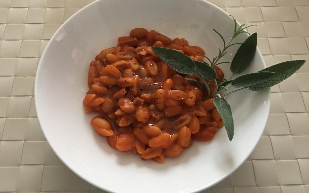 Pasta e fagioli della Nonna con Cuisine e i-Companion Moulinex