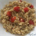 Quinoa con datterini, origano e olio evo, MyCuCo
