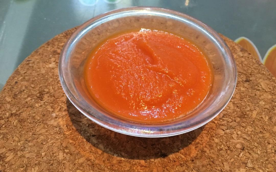 Ketchup ricetta Bonci, fatto col CuCo Moulinex