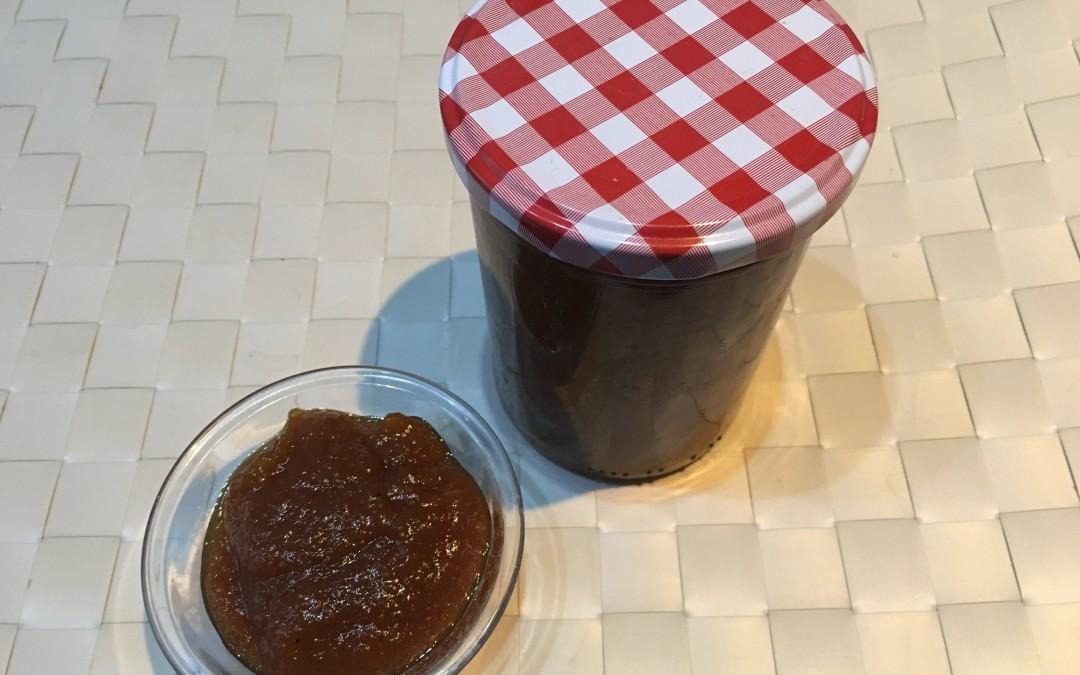 Marmellata di zucca e zenzero con il CuCo Moulinex