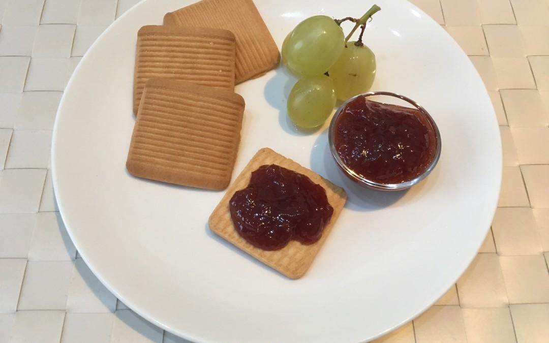 Marmellata di uva bianca (ma anche nera) con Cuisine e i-Companion Moulinex