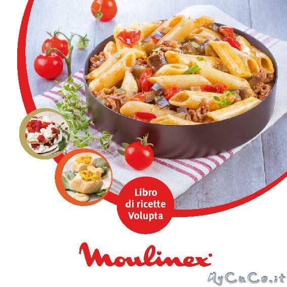 Manuale e ricettari Volupta Moulinex