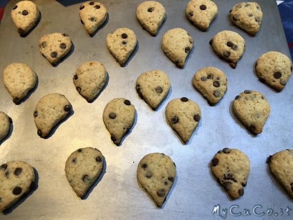 Biscotti con gocce di cioccolato tipo Gocciole - mycuco.it