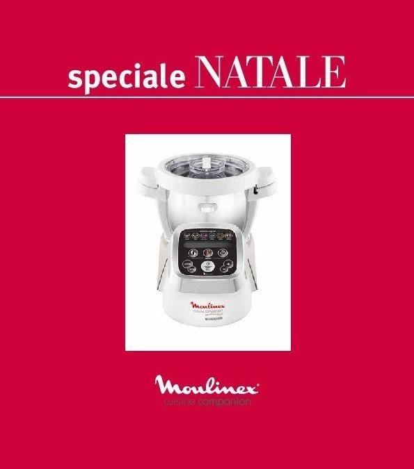 """Nuovo ricettario: """"Speciale Natale"""" per Cuisine, i-Companion e XL Moulinex"""