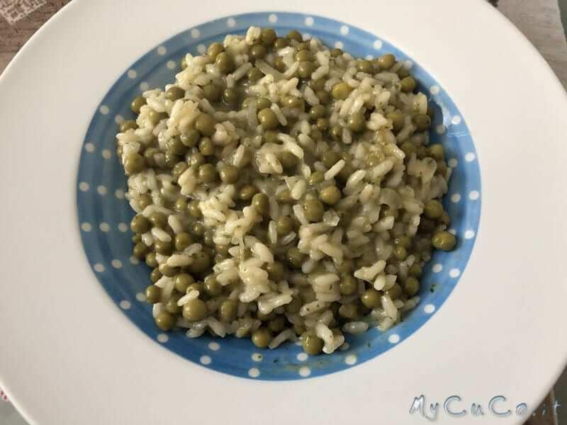 Risotto con spinaci moulinex