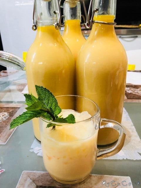 Crema di meloncello con il Companion Moulinex