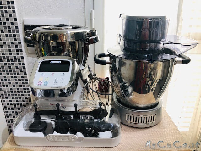 Moulinex i-Companion XL VS Kenwood Cooking Chef Gourmet, un primo confronto