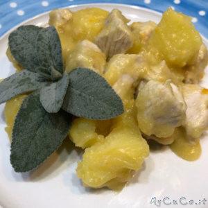 Spezzatino di tacchino con patate