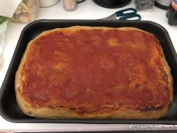 Pizza Nera con 7 cerali e semi - mycuco.it