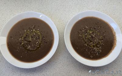 Companion e Bimby a confronto: vellutata di fagioli borlotti