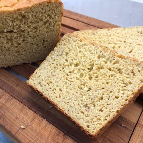 Pane di ceci proteico con il CuCo