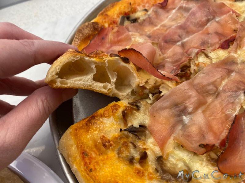 Pizza con impasto al farro - MyCuCo.it