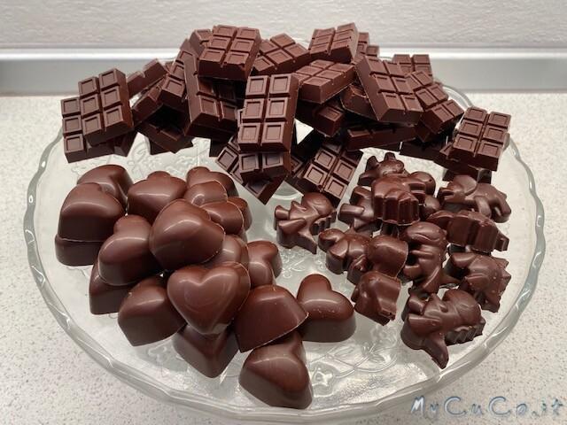 Cioccolato fondente senza zucchero - MyCuCo.it