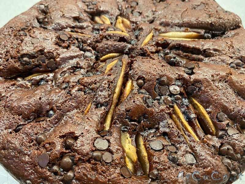 Torta cioccolato e pere con Companion Moulinex